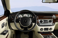 Rolls-Royce Ghost interior dash