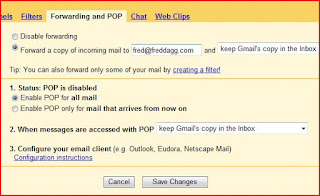 Access your Gmail Free account in any E-Mail Client