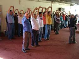Aula de ginastica laboral