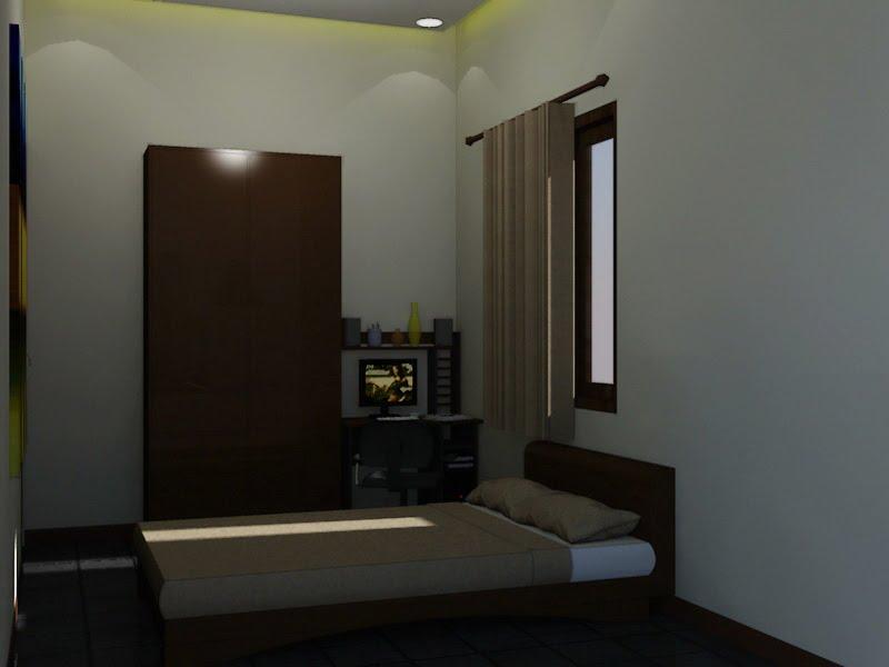 Panduan Bangunan Rumah Desain Kamar Tidur Sederhana