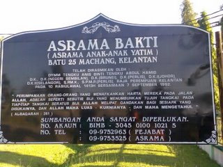 Asrama bakti batu 25 machang