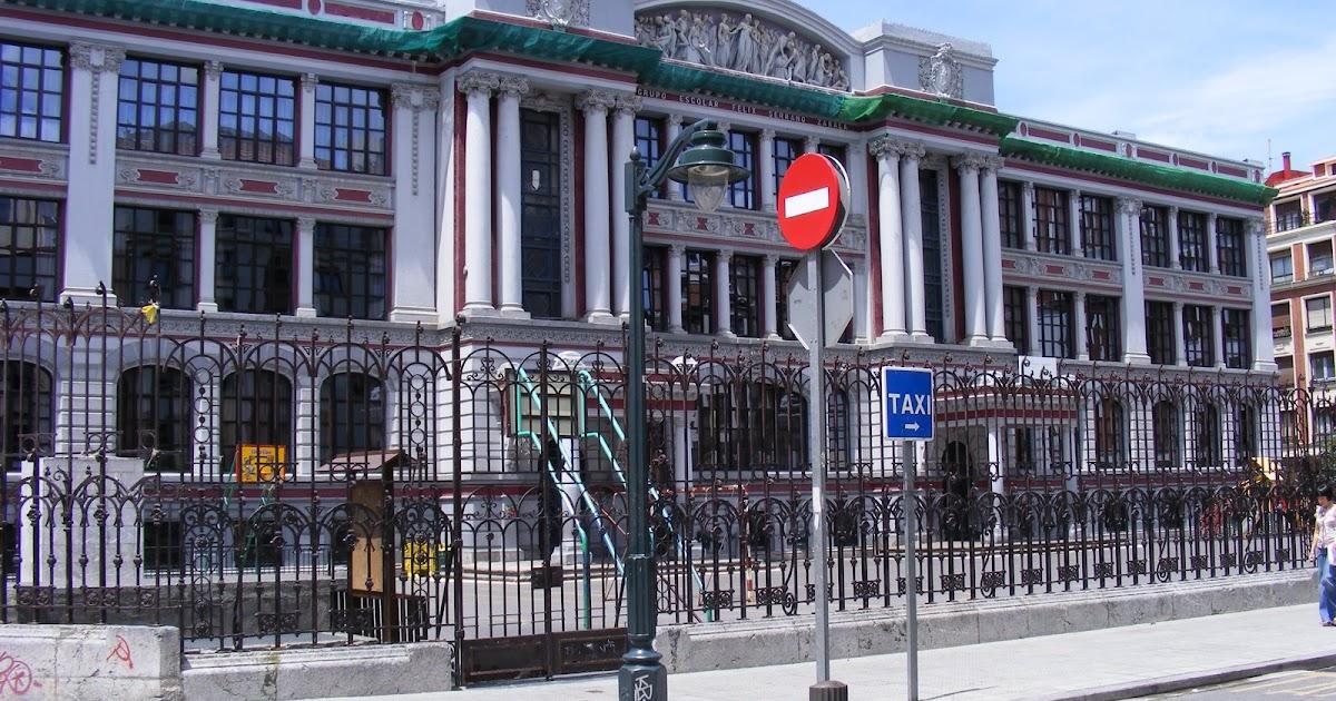 Bilbao sus edificios colegio felix serrano - Colegio arquitectos bilbao ...