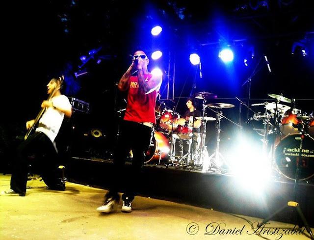 Coxis Banda de Rock de la ciudad de Medellín, new metal, grunge, hip hop y sonidos digitales.