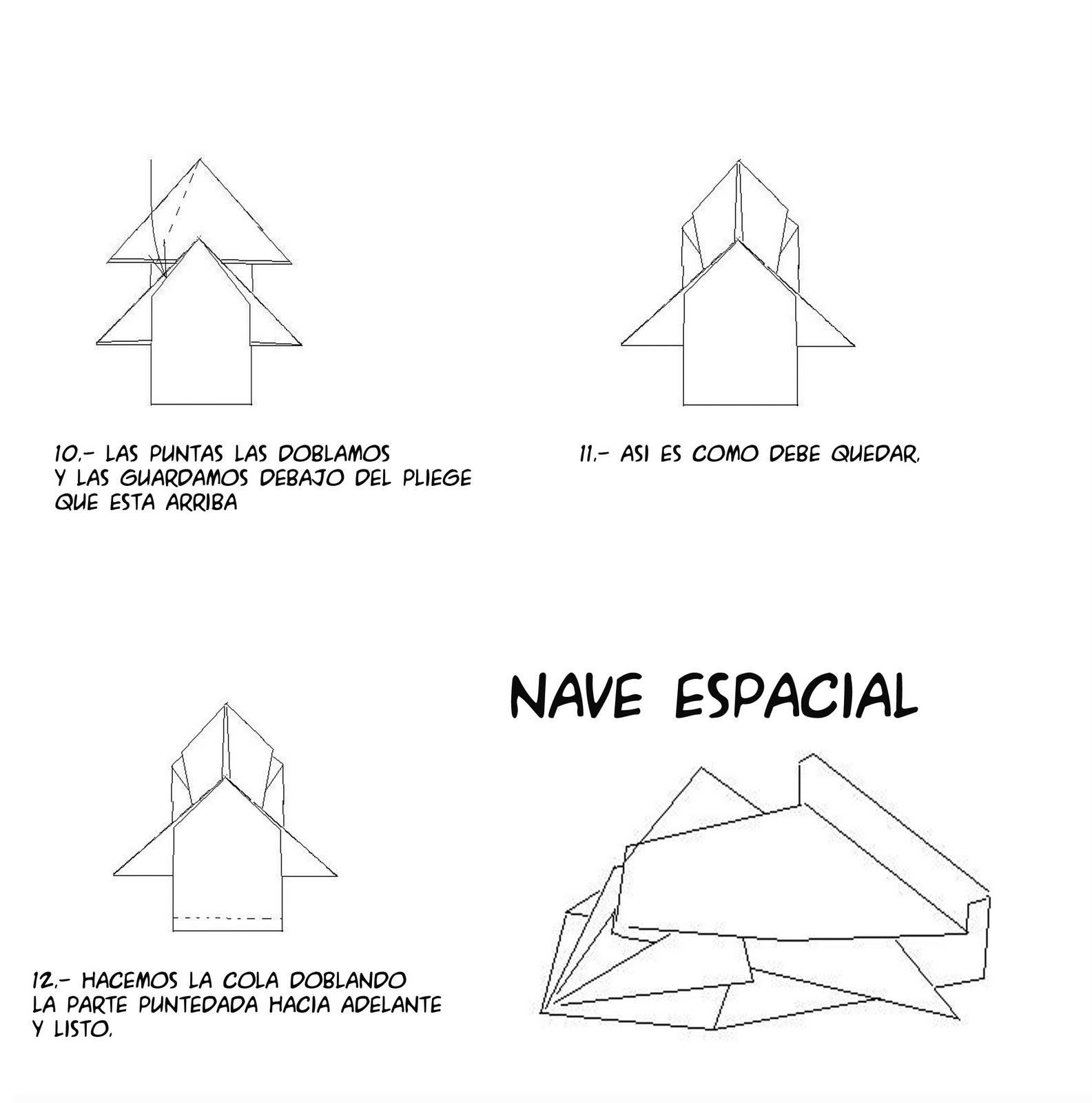 Magazines Creación Artesanal Origami Como Hacer Una Nave