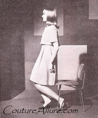 upholstered posture chair steel jhula couture allure vintage fashion: how to sit like a lady - 1968
