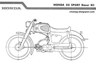 Honda 50: Honda 50 Sport Racer Kit