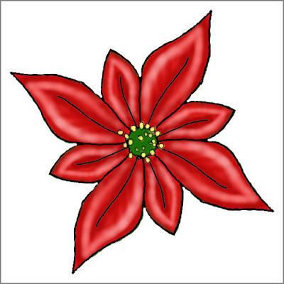 Poinsettia Template Printable | New Calendar Template Site