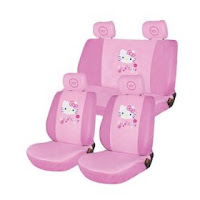 Hello Kitty Universal Car Seat Cover - Pink