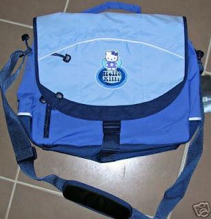Hello Kitty Laptop Messenger Bag