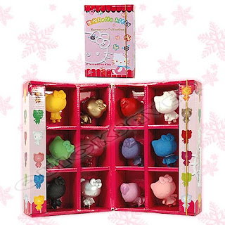 Sanrio HELLO KITTY Colorful 6cm PVC Figure Box Set 12PC