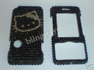 Hello Kitty Swarovski Crystal LG Chocolate Case Faceplate Cover