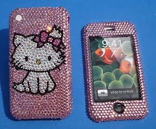 Hello Kitty iPhone Swarovski Case Faceplate - Charmmy Kitty
