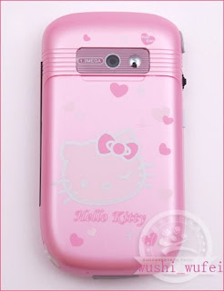 Hello Kitty 318 Bluetooth TriBand TouchScreen PDA phone