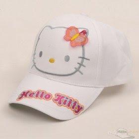 Hello Kitty Cap-White