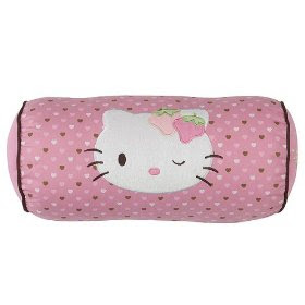 Hello Kitty Strawberry Bolster Pillow - 6.5x14