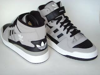 size 40 d62c6 83ec2 ... sale adidas forum mid de cuero negra gris talles usa 7 1 2 8 10 us