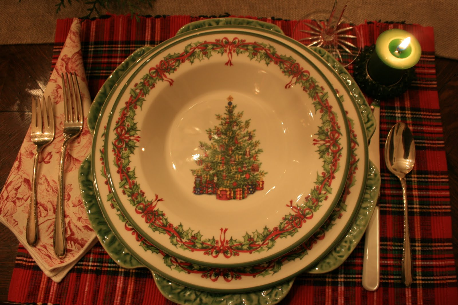 Vignette Design Christmas Tablescapes From The Past