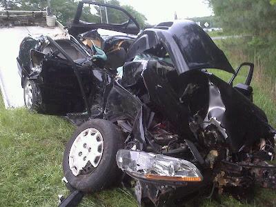 Salisbury News: Accident On Rt 50 Yesterday