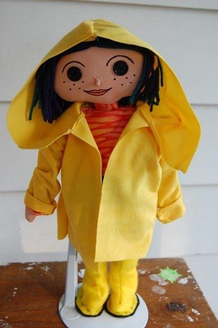 Ocr Limited Arts Coraline Yellow Rain Coat