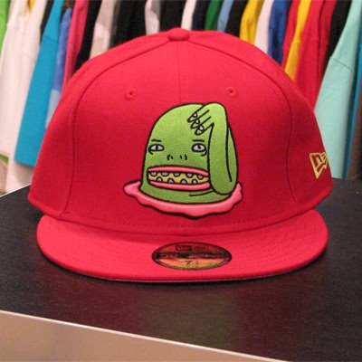 a90b964dc26 Mishka - Bear Mop New Era Fitted Hat Oakland Raiders Colorway (7 1 8 - 8)