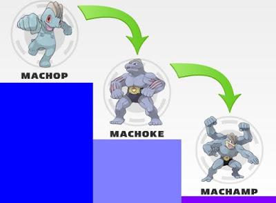 Pokemon Machop Evolution Chart