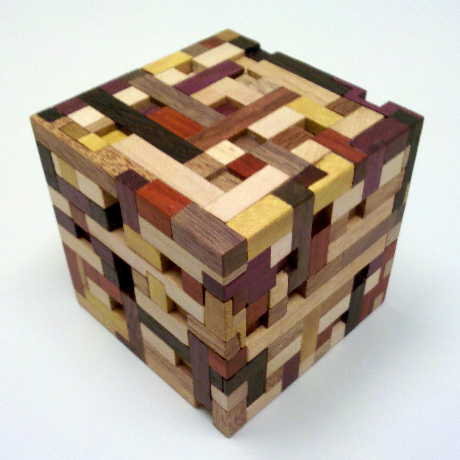 Brian's Damn Puzzle Blog: Gordian Knot Puzzle Box