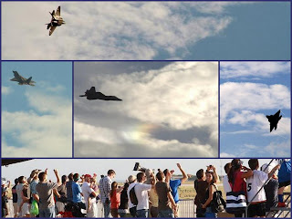 Collage of Airshow at Randolph Air Force Base, TX