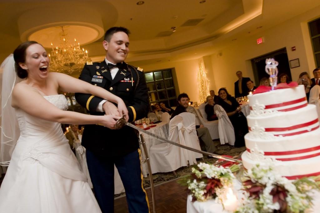 Scottish Wedding Cake Sword