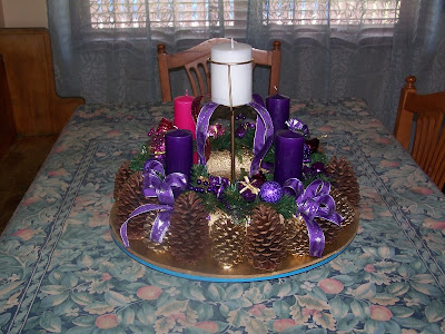 Under Her Starry Mantle Our New Advent Wreath