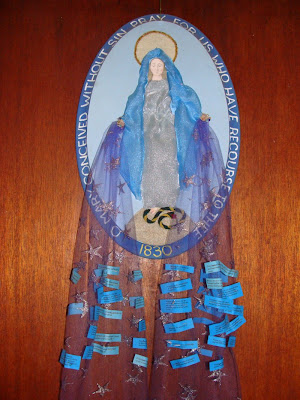 Under Her Starry Mantle: Miraculous Medal Prayer Petition Mobile