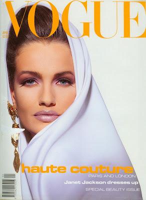 La Vie en Pose: Vogue UK April 1991
