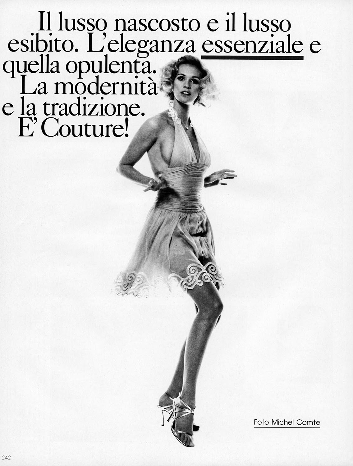 La Vie en Pose: Couture by Michel Comte