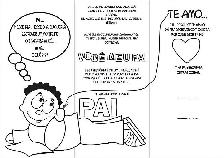 Dia Dos Pais Atividades Idéias 1 Blog Da Tia Alê