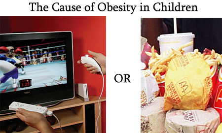 Fast Food Controversy Obesity