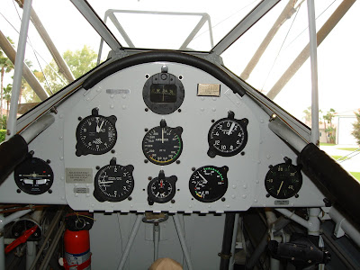 Princess Belle Stearman Aft Cockpit Panel