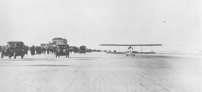 Early Daytona Beach Runway