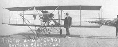 Early Aviation in Daytona Beach, pilot McMurdy