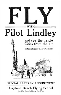 Early Aviation in Daytona Beach, pilot Lindley
