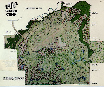 Original Spruce Creek Site plan