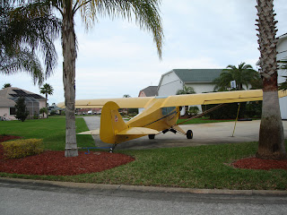 Piper Cub at Spruce Creek