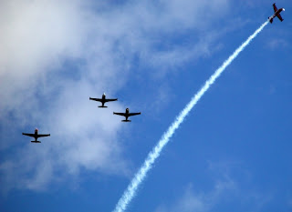 Spruce Creek Gaggle Missing Man Formation