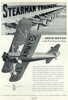 Princess Belle, Stearman advertisement Army Air Corps