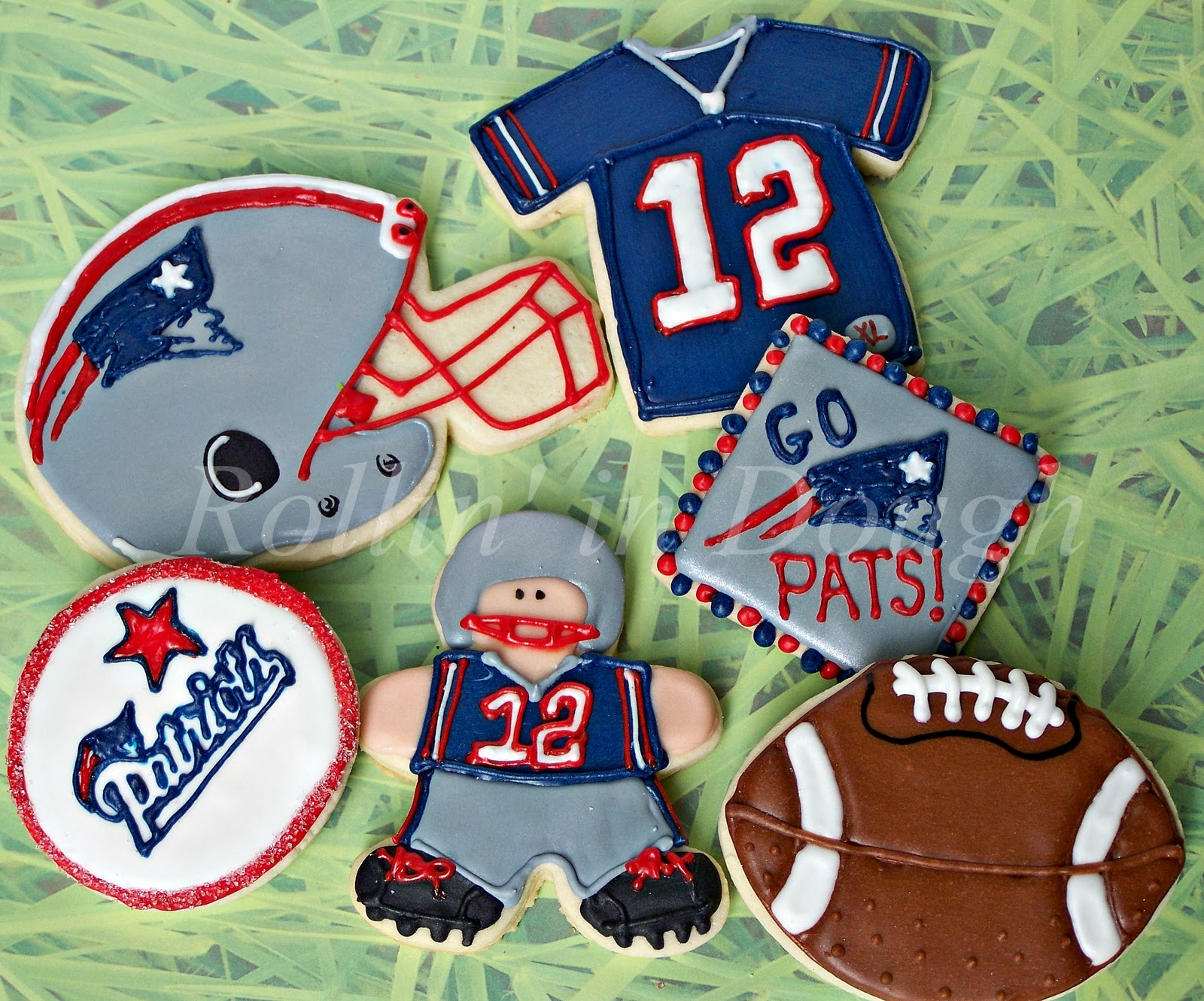 Rollin' in Dough: Patriots, Fleur de lis, and More Halloween