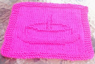 DigKnitty Designs: Birthday Cake Knit Dishcloth Pattern