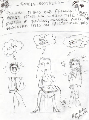 bloggers anonymous parody cartoon