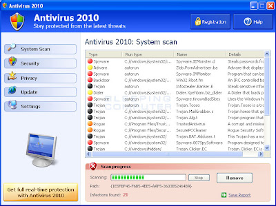 Antivirus+2010 2 - How to Remove Antivirus 2010