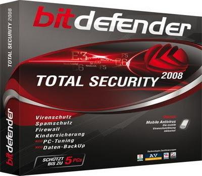 FREE 180 Days BitDefender Total Security 2009 Genuine License Key 1