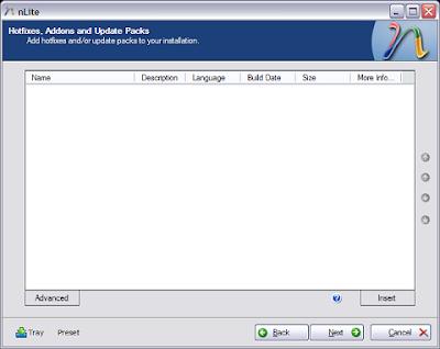 Nlite : Customise your Windows XP - Part 2 2