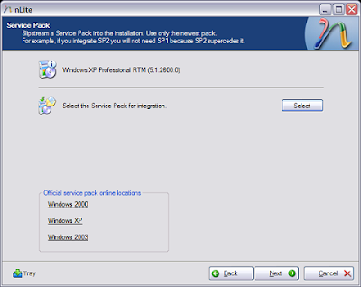 Nlite : Customise your Windows XP - Part 2 5