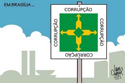 Resultado de imagem para brasilia DF charge